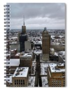 Queen City Winter Wonderland After The Storm Series 007 Spiral Notebook