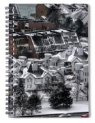Queen City Winter Wonderland After The Storm Series0028 Spiral Notebook