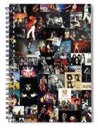 Queen Collage Spiral Notebook