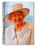 Queen Elizabeth II Portrait 100-028 Spiral Notebook