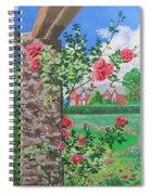 Queen Gardens In Belfast Spiral Notebook
