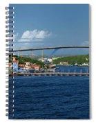 Queen Juliana Bridge  Queen Emma Bridge Curacao Spiral Notebook