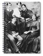Queen Mary (1867-1953) Spiral Notebook