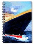 Queen Mary 2 Spiral Notebook