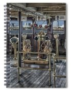Queen Mary Ocean Liner Bridge 02 Extreme Spiral Notebook