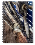 Queen Mary Ship Turnbuckle Spiral Notebook
