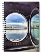 Queen Mary Starboard View Spiral Notebook