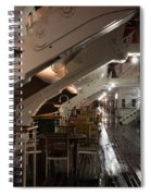 Queen Mary Sun Deck Spiral Notebook