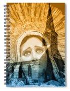 Queen Of Angels Spiral Notebook