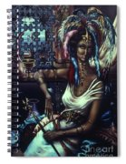 Queen Of Atlantis Spiral Notebook