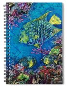 Queen Of The Sea Spiral Notebook