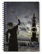 Queen Of The Seagulls Spiral Notebook