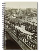Queen Victoria In Carriage Spiral Notebook