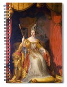Queen Victoria Of England (1819-1901) Spiral Notebook