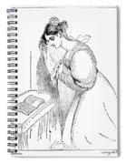 Queen Victoria Sketch Spiral Notebook