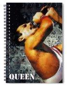 Queen We Will Rock You Spiral Notebook