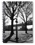 Queens Bridge Park  Spiral Notebook