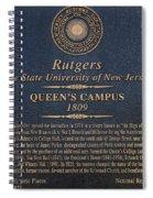 Queen's Campus - Commemorative Plaque Spiral Notebook