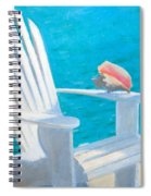 Queens Chair Spiral Notebook