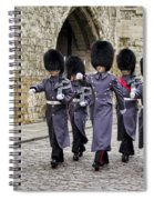 Queens Guard Spiral Notebook