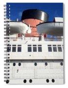Queen's Life Boats Spiral Notebook