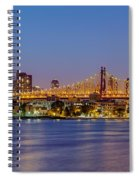 Queensboro Bridge 59th Street Nyc Spiral Notebook