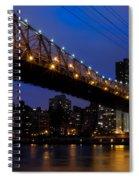 Queensboro Bridge Spiral Notebook