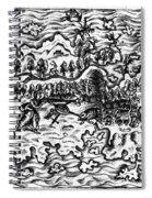 Queiros Voyages, 1613 Spiral Notebook