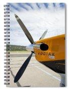 Quest Kodiak Aircraft Spiral Notebook