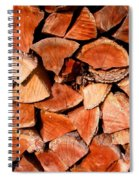 Quick Trick Wood Stack Spiral Notebook