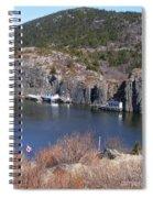 Quidi Vidi Fishing Stages Spiral Notebook