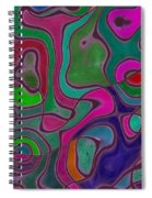 Quiet Abstraction Spiral Notebook
