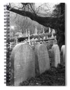 Quiet Cemetery Spiral Notebook