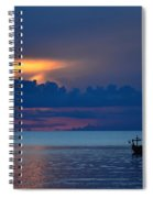 Quiet Evening Spiral Notebook
