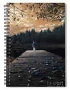 Quiet Moments Series Spiral Notebook