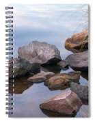 Quiet Morning. Ladoga Lake Spiral Notebook