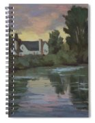 Quiet Reflections Duwamish River Spiral Notebook