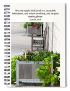 Quiet Resting Places Spiral Notebook