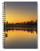 Quiet Sunrise.. Spiral Notebook