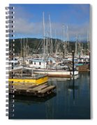 Quiet Time At The Harbor Spiral Notebook