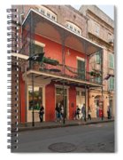 Quiet Time In The Quarter Spiral Notebook