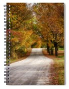 Quiet Vermont Backroad Spiral Notebook