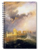 Quillebeuf - At The Mouth Of Seine Spiral Notebook