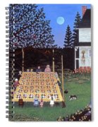 Quilting In The Country Spiral Notebook
