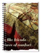Quilts Are Like Friends A Great Source Of Comfort Spiral Notebook