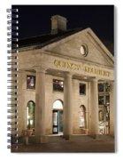 Quincy Market Boston Spiral Notebook