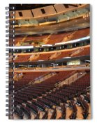 Quite Time Chicago United Center Before The Gates Open 02 Spiral Notebook