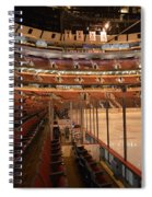 Quite Time Chicago United Center Before The Gates Open Vertical Spiral Notebook