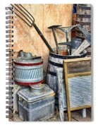 Quitting Time By Diana Sainz Spiral Notebook