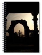 Qutab Minar Complex - New Delhi - India Spiral Notebook
